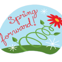 Change clipart ahead. Free spring forward cliparts