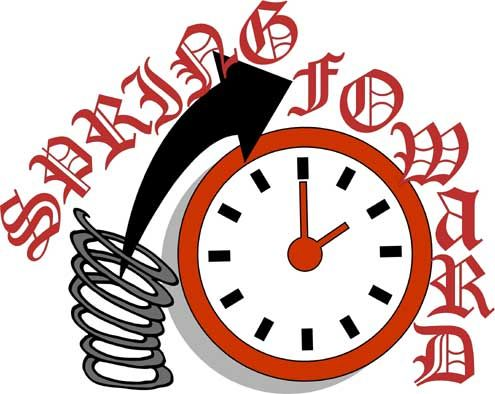 Daylight savings clipart walking. Time clip art spring