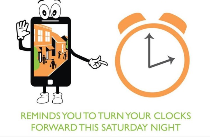 Daylight savings clipart walking fitness. Saving time begins sunday