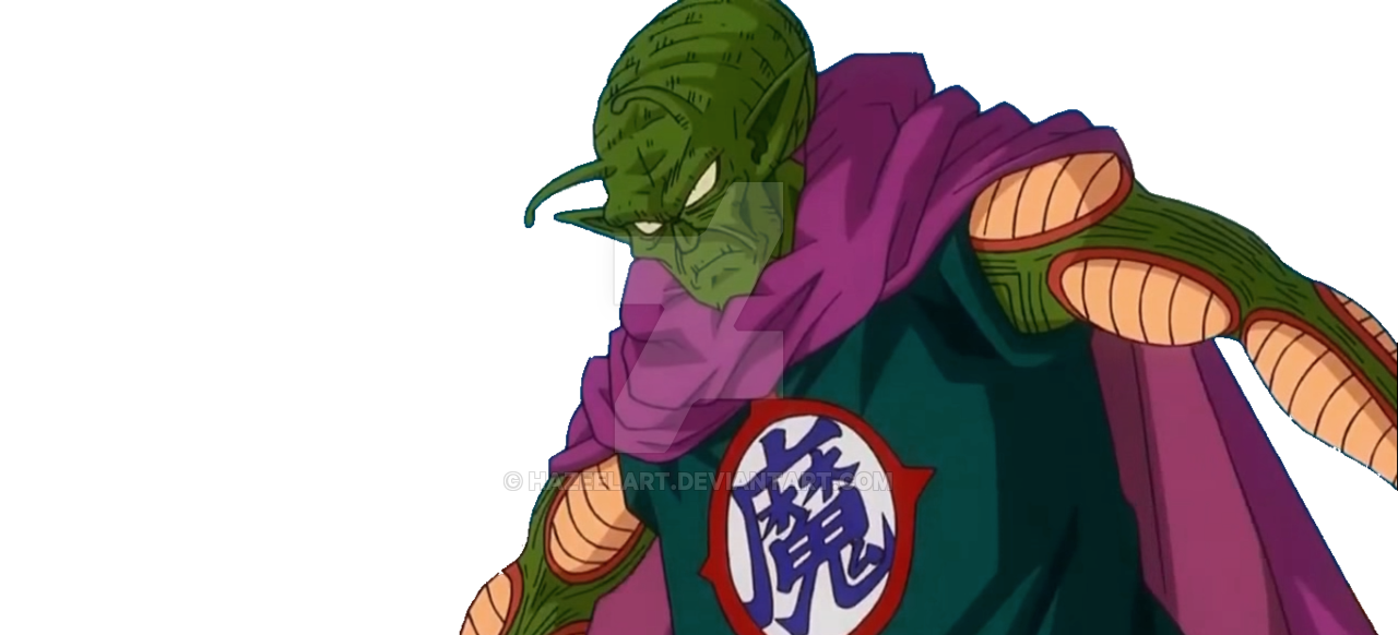 Dbz king piccolo png. Great demon old by