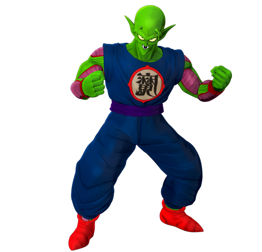 Dbz king piccolo png. Young render day by