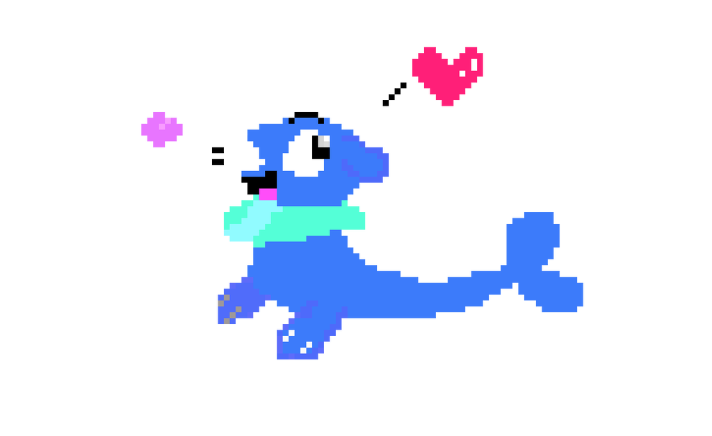 Dc drawing simple. Just a popplio pixel