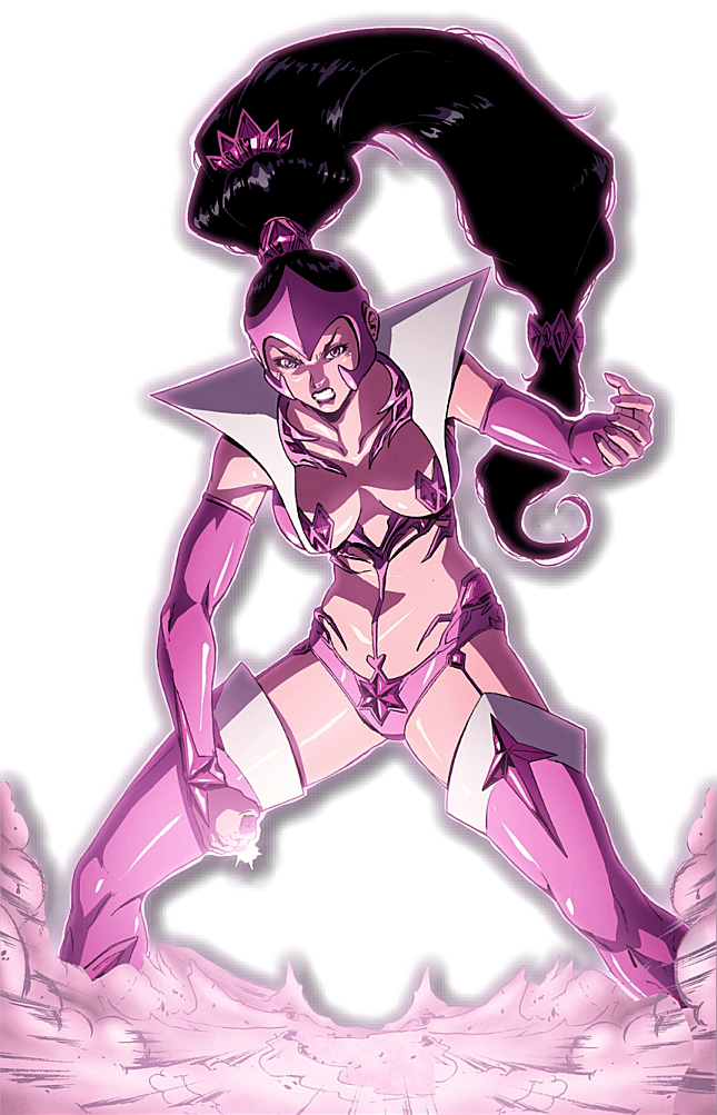 Dc drawing star sapphire. Render by bobhertley on