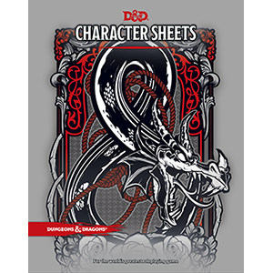 D&d 5e character sheet png. Sheets dungeons dragons official