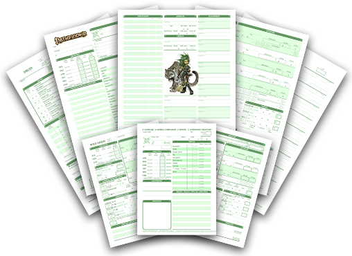 D&d 5e character sheet png. Sheets by dyslexic studeos