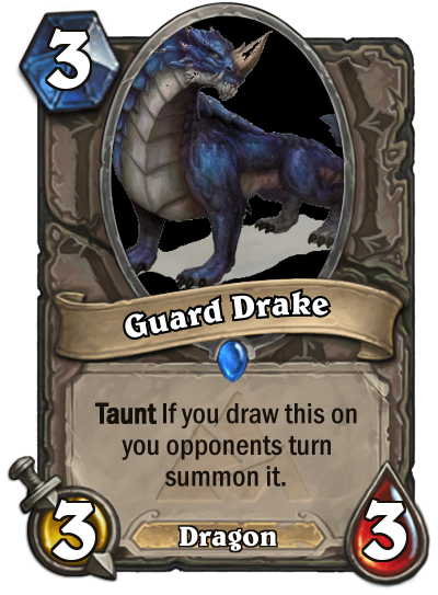 D&d 5e guards png. Guard drake inspired by
