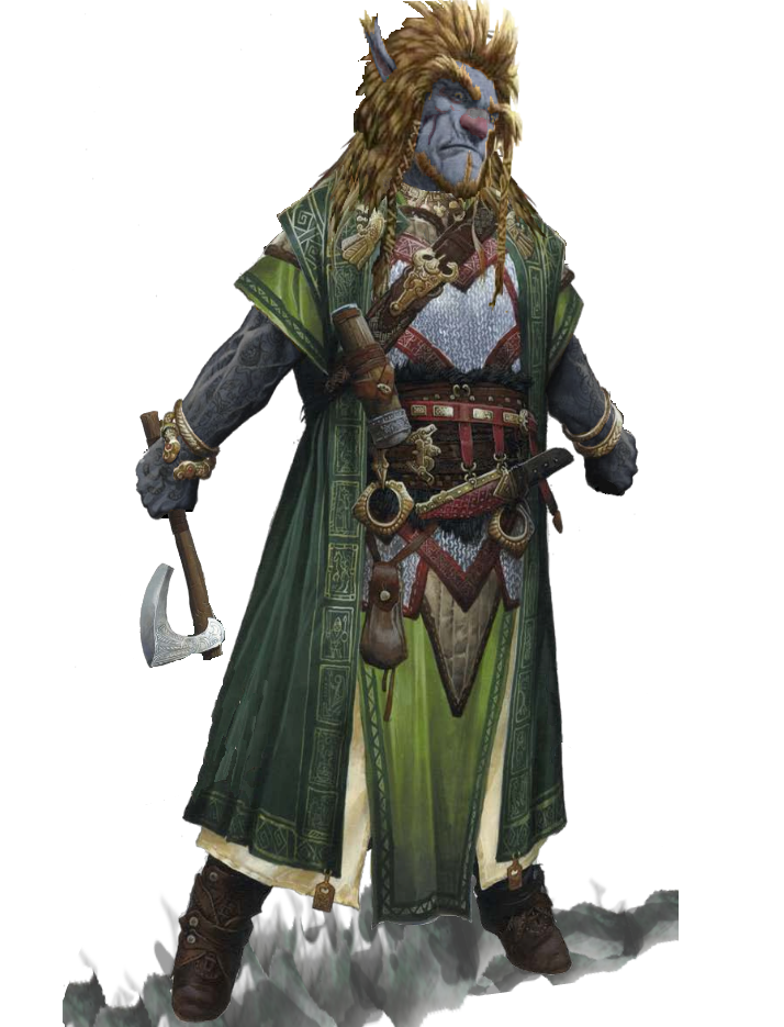 D&d goliath png. Firbolg male d characters