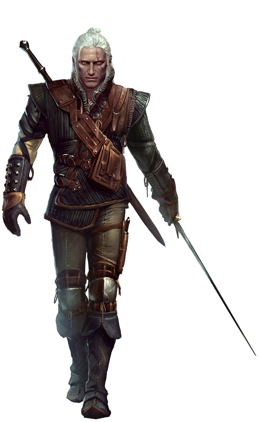 the witcher 3 geralt png