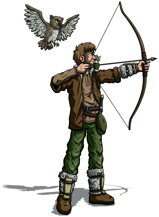 Dnd commission by deathbychiasmus. D&d ranger png vector free library
