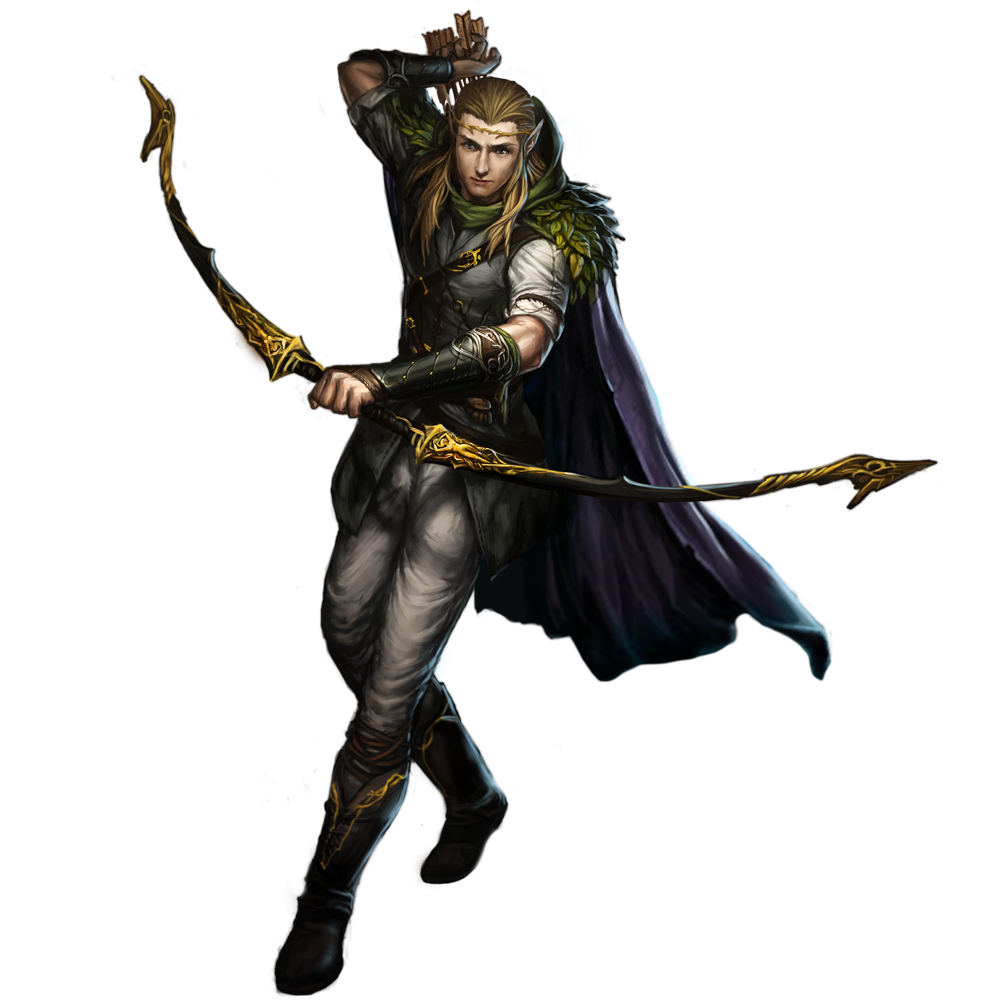 Image edhel earth comic. D&d ranger png picture library download