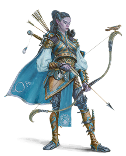 The class for dungeons. D&d ranger png graphic stock