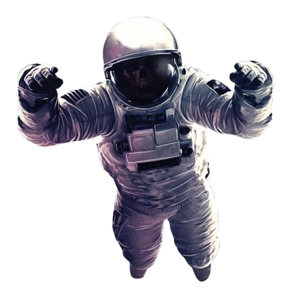 Space man png. Ftestickers spaceman astronaut dead