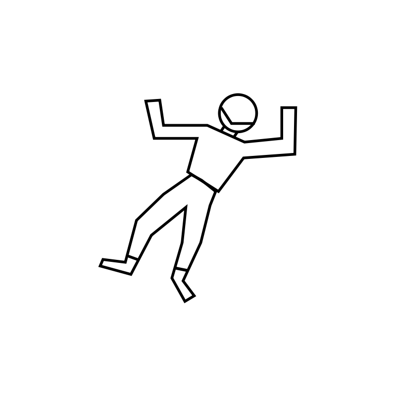 Dead body outline png. Collection of clipart