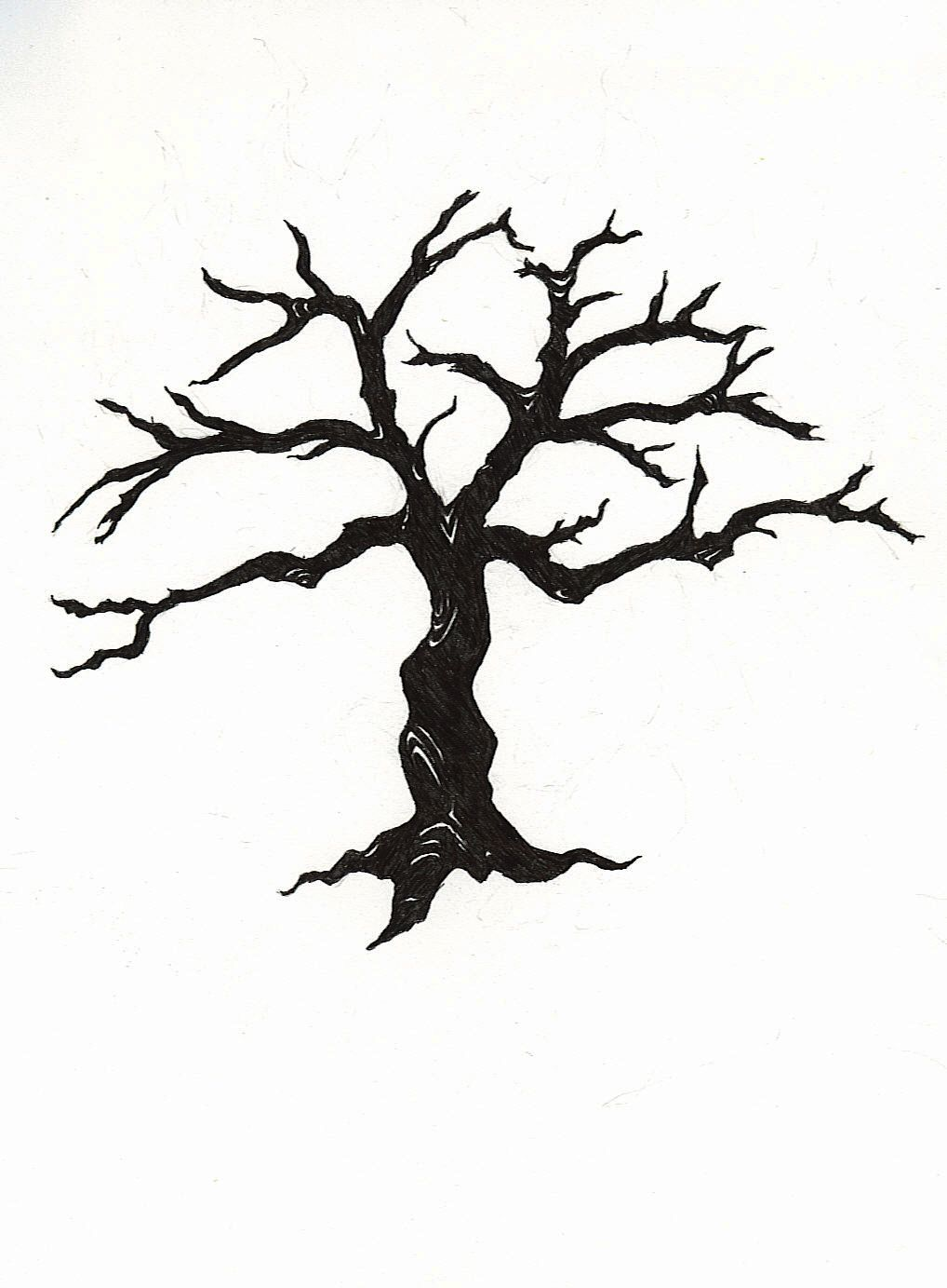 Trees clipart dead. Tree clipartfest paper cutting