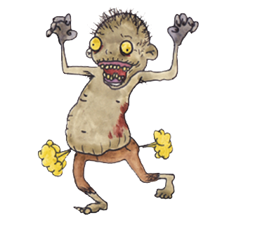 Dead clipart bad smell thing. What do zombies like