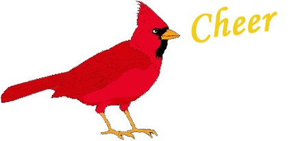 Dead clipart cardinal. Pencil and in color