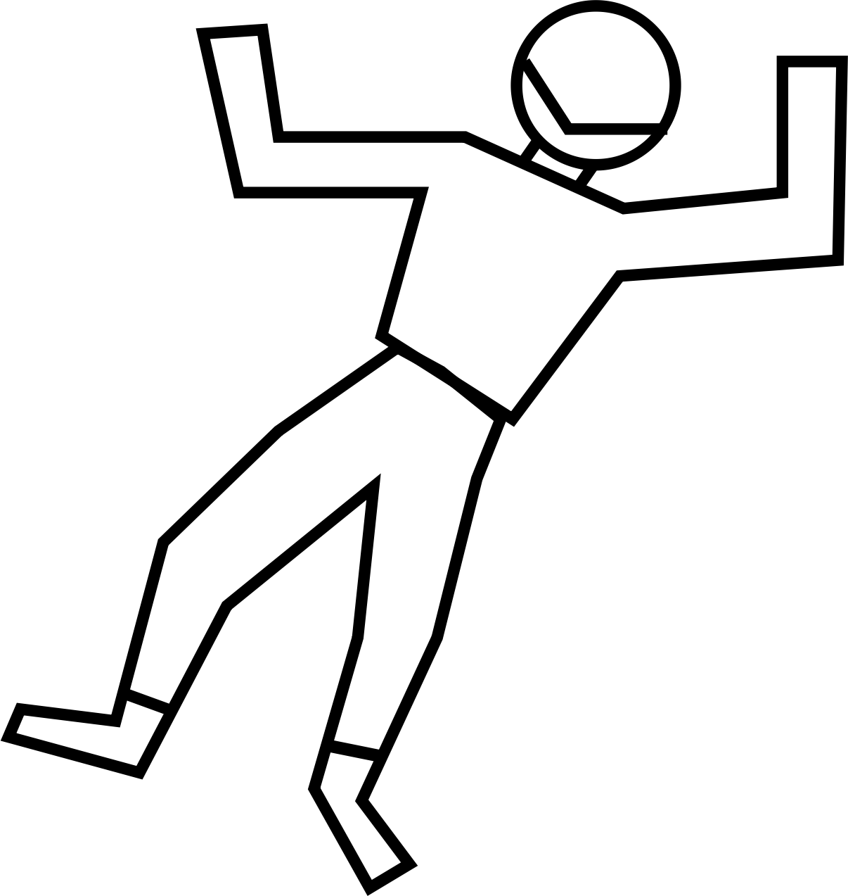 Stick person dead png. Clipart of body typegoodies