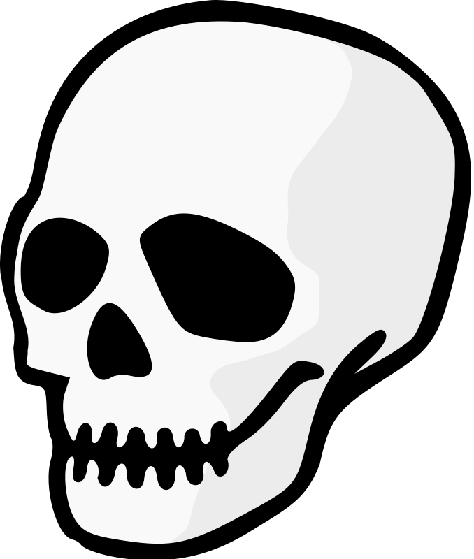 Dead clipart skull drawing. Day of the free