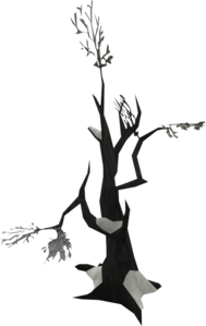 Dead cupid png. Tree covered in snow