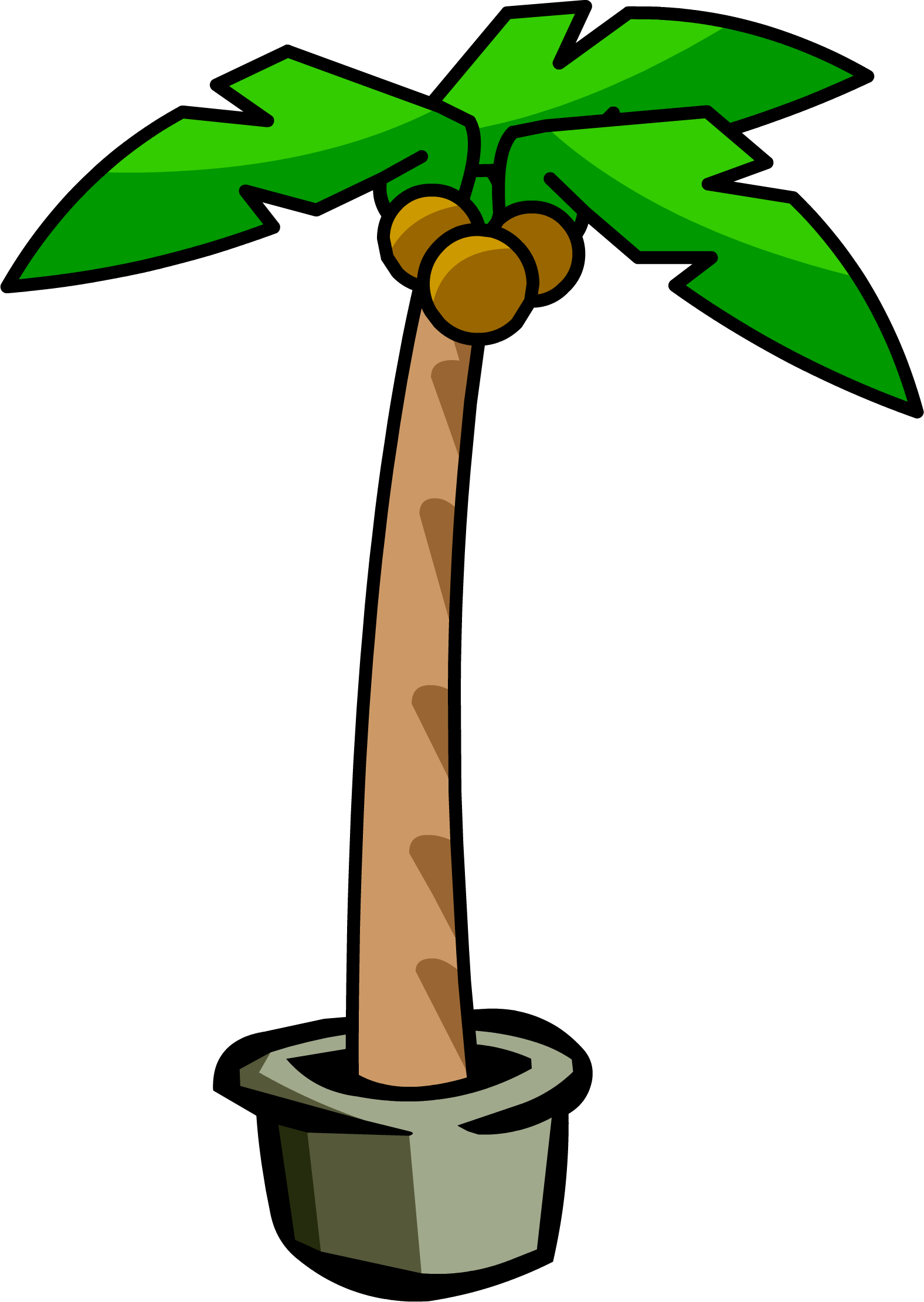 Dead palm tree png. Image club penguin wiki