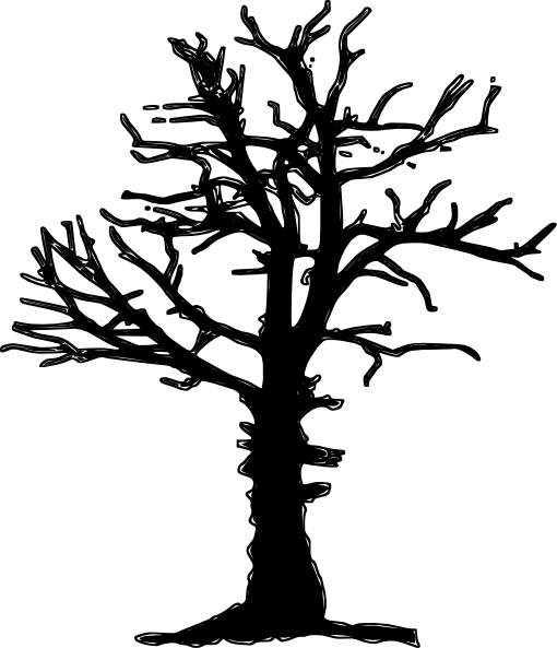 Dead palm tree png. Silhoutte clip art at