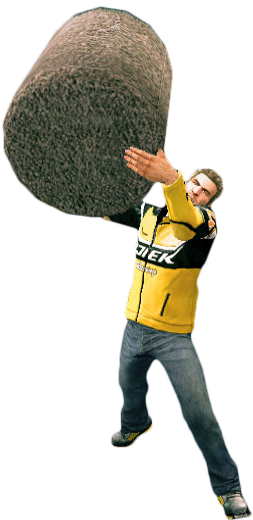 Dead rising 2 png. Image garbage can combo