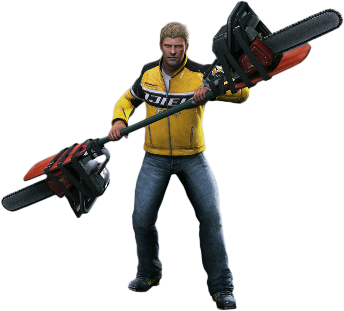 Dead rising 2 png. Image chuck greene outfit