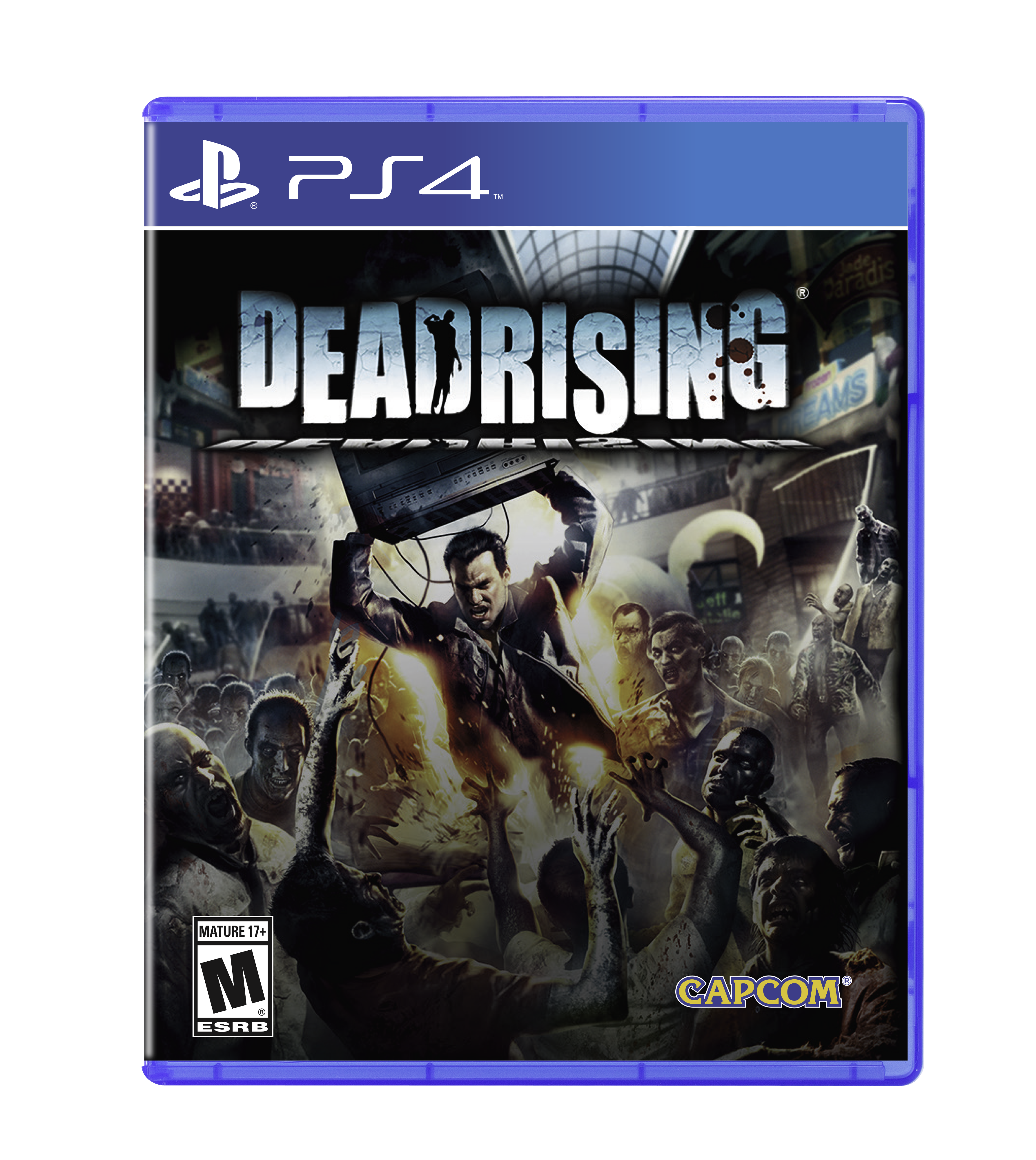 Dead rising 4 title png. The classic series returns