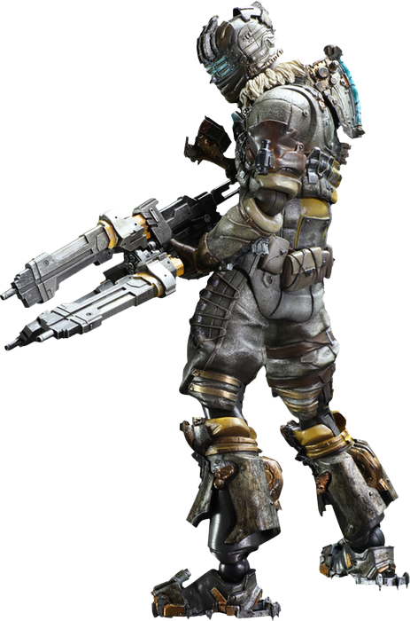 Dead space 3 png. Isaac clarke play arts