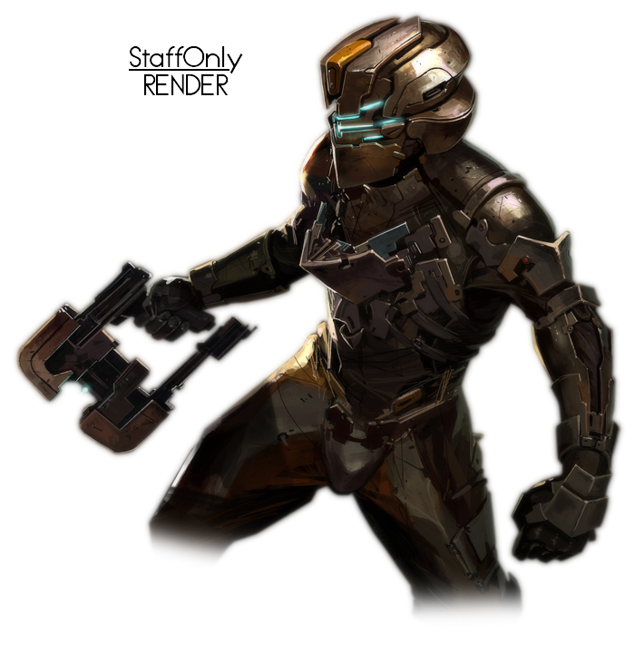 Dead space png. Isaac render by staffonly