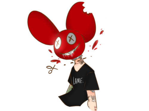 Deadmau5 drawing concept art. Joel zimmerman tumblr just