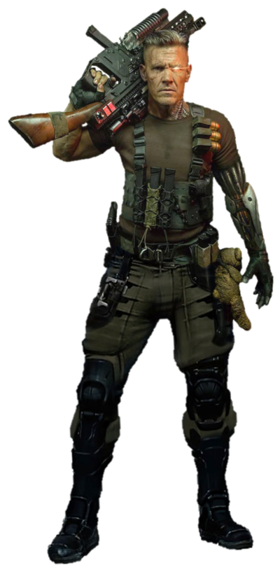 Deadpool 2 png. Cable josh brolin by