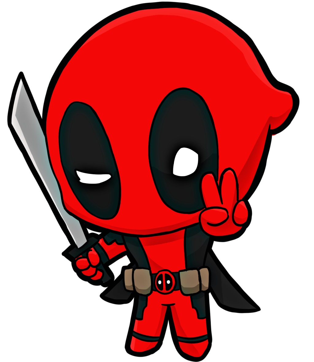 Deadpool clipart deadpool 2. Cute freetoedit