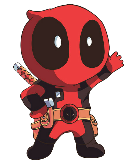 deadpool face png
