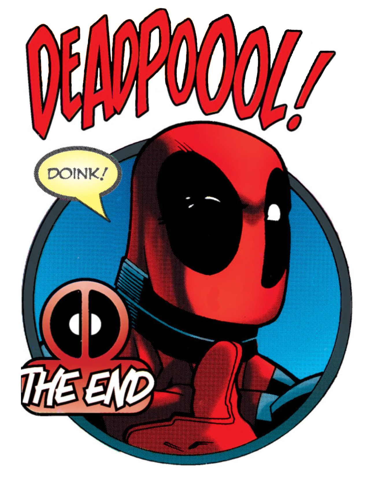 Deadpool clipart deadpool 2. The end joe kelly