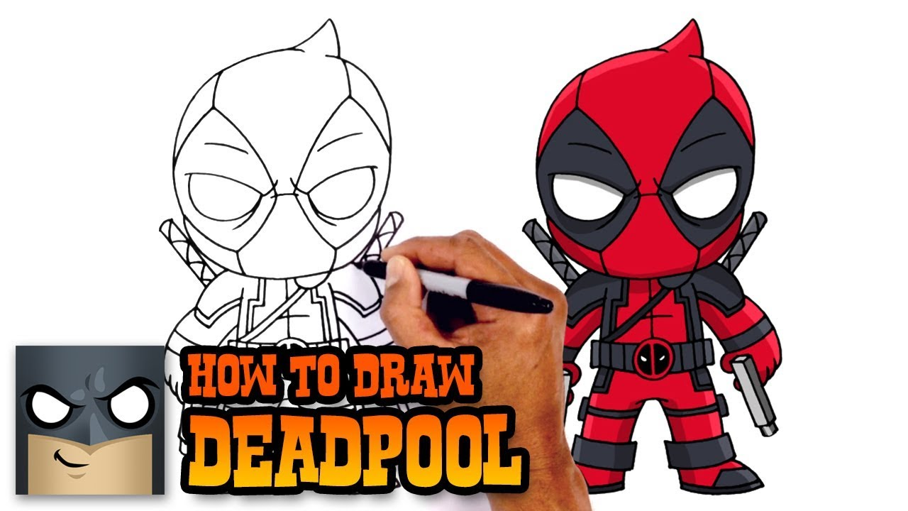 Deadpool clipart deadpool 2. Cartoon drawing at getdrawings