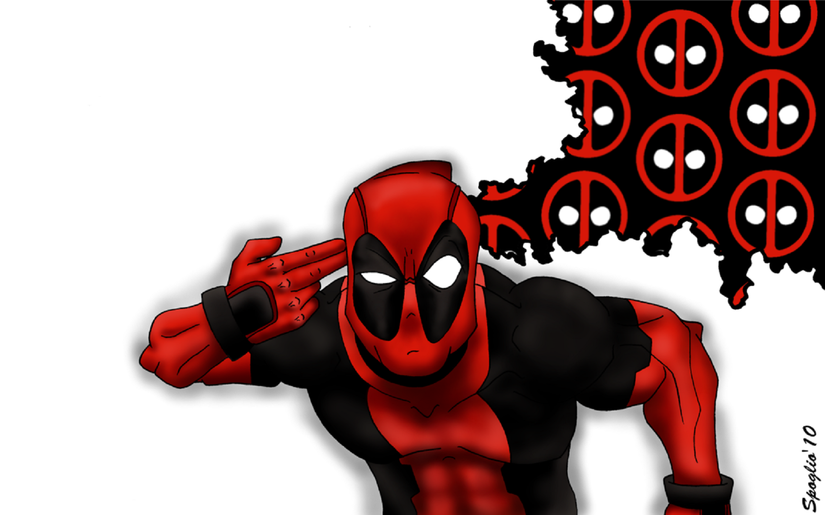 Deadpool clipart deadpool 2. Wallpaper by spoglio wade