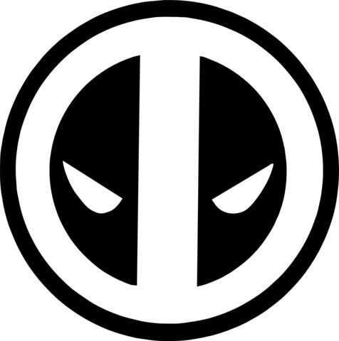 Deadpool clipart deadpool logo. Best images on