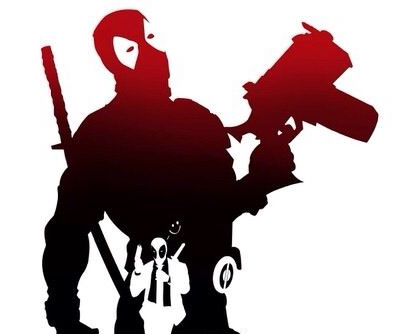 Deadpool clipart deadpool marvel. Silhouette at getdrawings com
