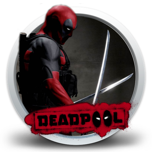 Deadpool clipart ico. Icons png vector free