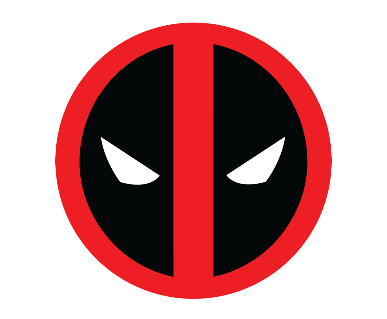 Deadpool logo png. Symbol meaning history and