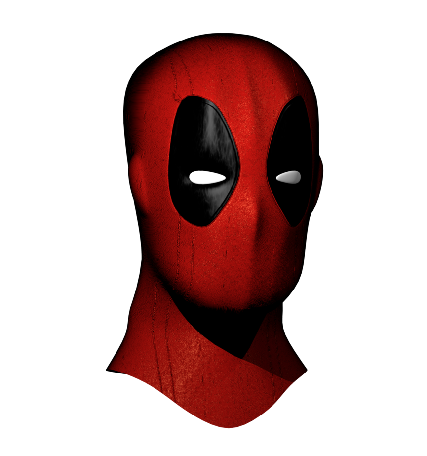 Deadpool mask png. By timimouse on deviantart