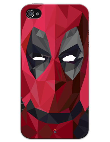 Deadpool mask png. Iphone mobile cover at