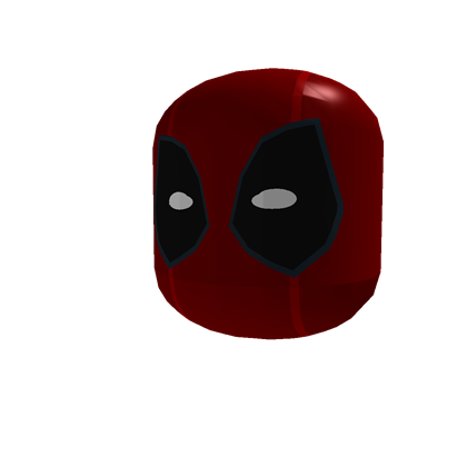 Deadpool mask png. Perfected roblox