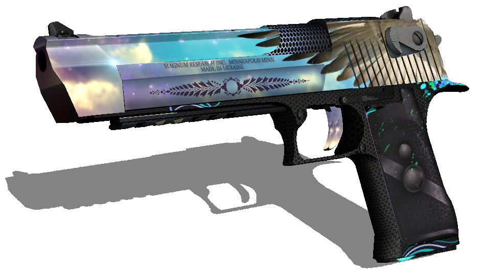 Deagle csgo png. Icarus desert eagle by