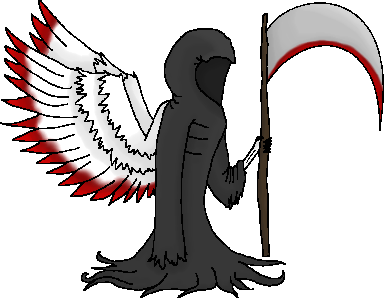Death angel png. Fallen of by o