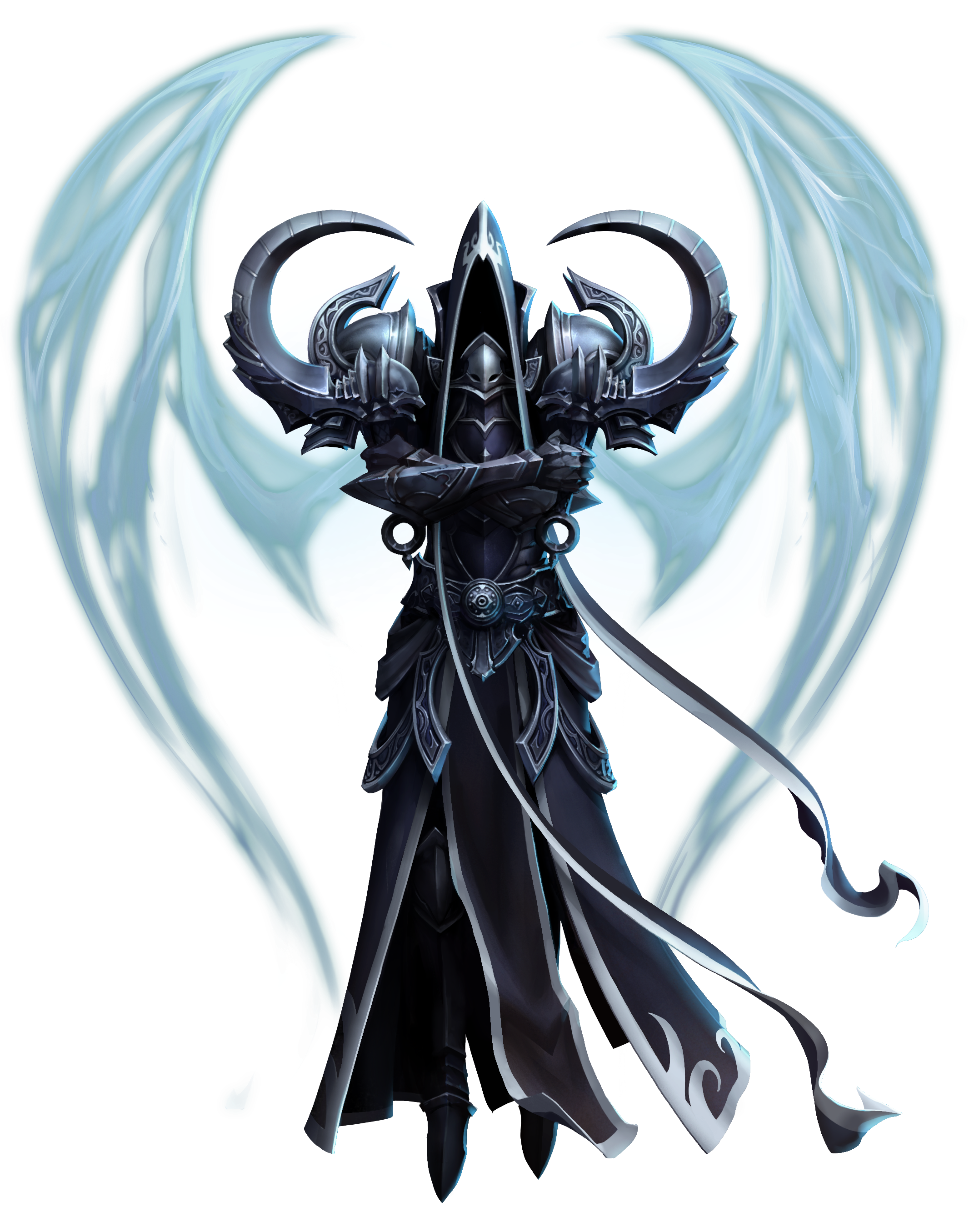 Death angel png. Malthael archangel of mm