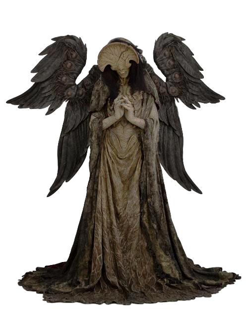 Death angel png. Of transparent by camo