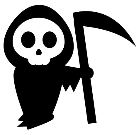 Death clipart. Grim reaper silhouette backgrounds