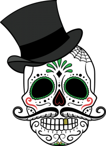 Death clipart deceased. Day of the dead